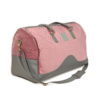 VM Luxury weekend travel bag torbica - Pastelno roza & siva