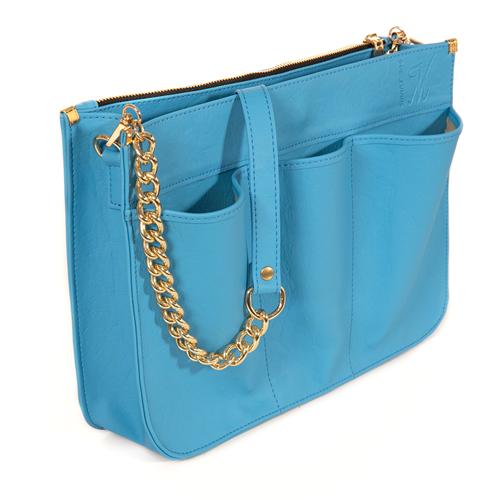 VM Pametna torbica-organizator - Pastelno-nebo-plava