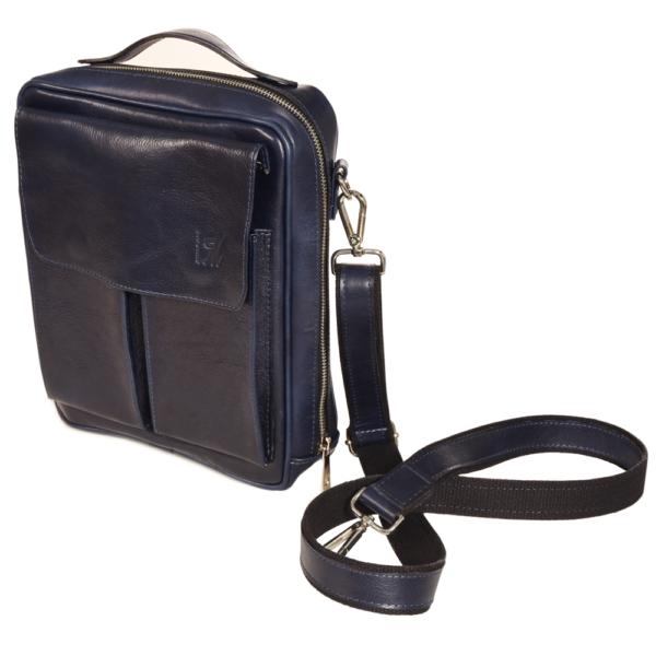 VM Men's Smart Bag - Plava